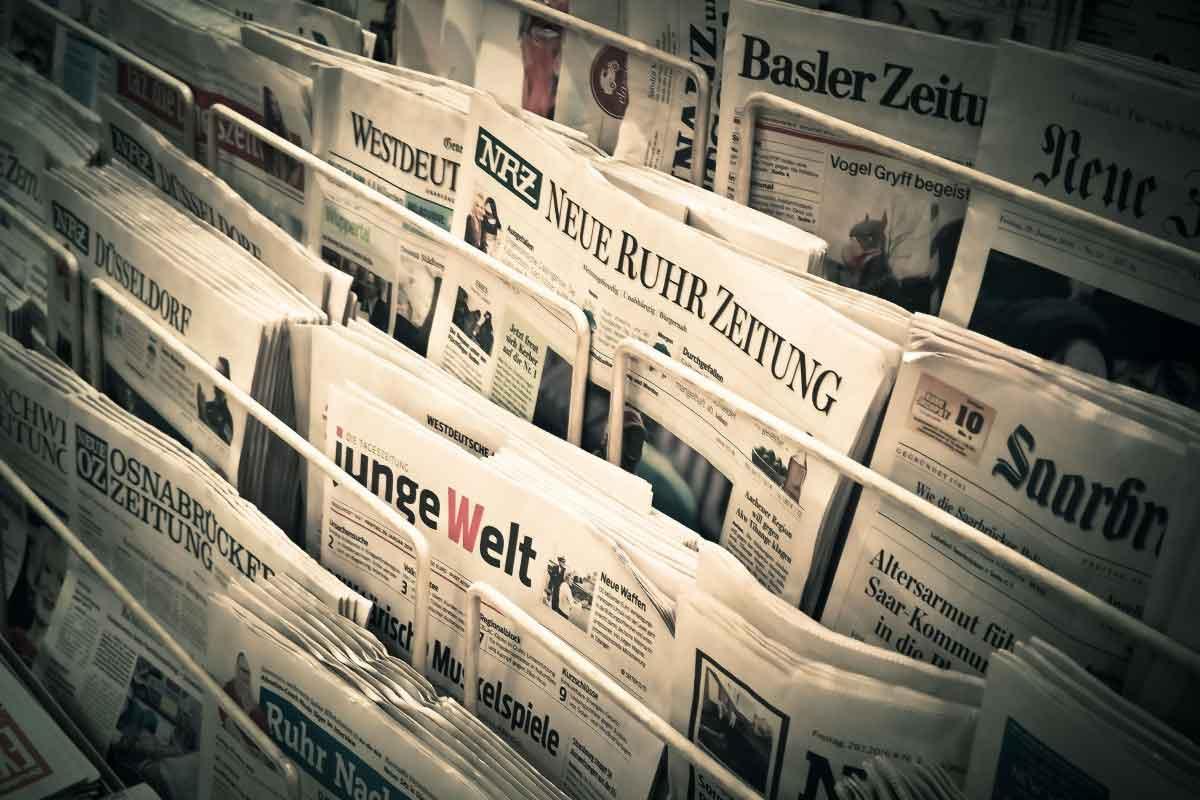 Zeitungen austragen und Geld verdienen
